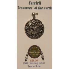 Silver Tree of Life Pendant
