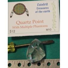 Quartz Point With multiple Phantoms